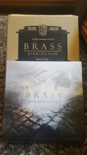 Brass Birmingham Kickstarter/Deluxe Edition with Iron Clays for Sale in Federal Way, WA