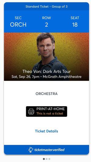 Theo Von tickets for Sale in Cedar Rapids, IA