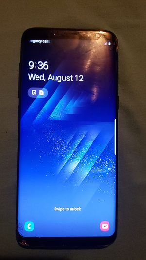 Samsung S8 Used (AT&T Carrier) for Sale in Dallas, TX