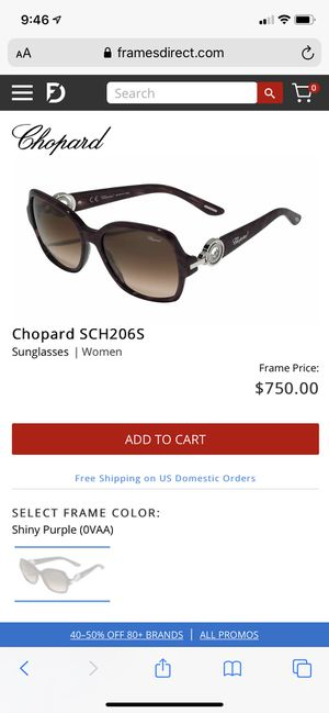 Chopard sunglasses for Sale in District Heights, MD