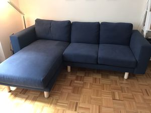IKEA Norsborg 3 seat with lounge chair avail now (buy now and negotiate price) for Sale in New York, NY