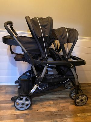 Graco Ready2Grow LX Double Stroller for Sale in Puyallup, WA