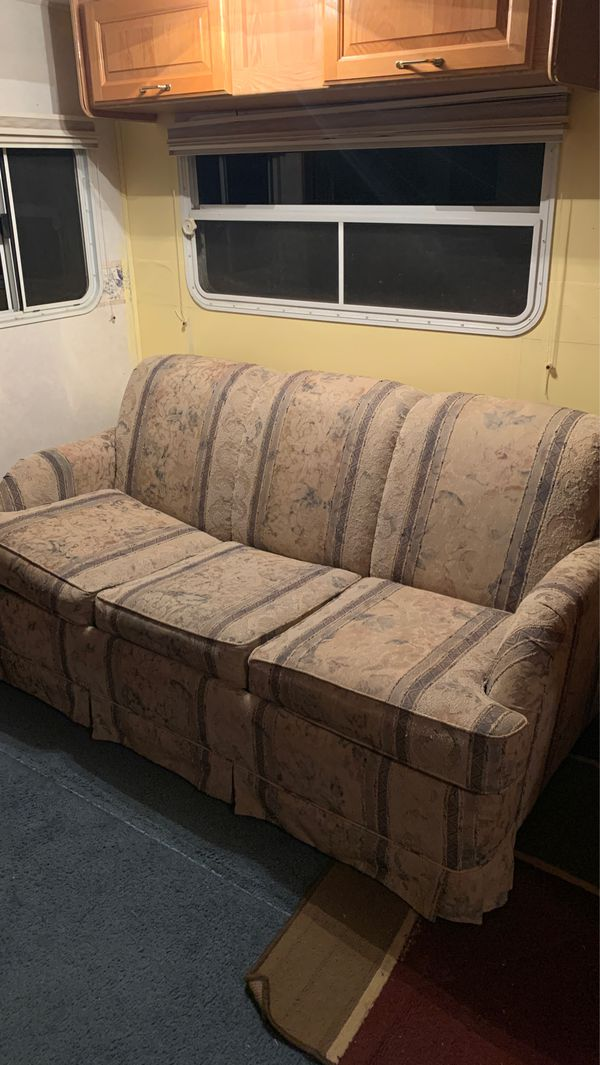 RV couch hide a bed for Sale in Home, WA   OfferUp
