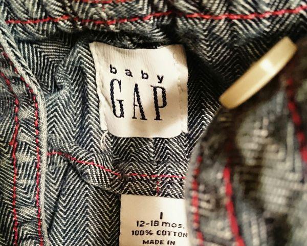 Baby Gap Denim Dress 12-18 Months