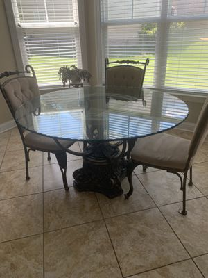 Glass kitchen table set for Sale in Waxhaw, NC