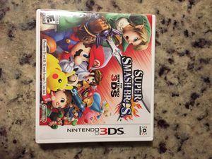 SuperSmash Bros. Nintendo 3ds game for Sale in Sudley Springs, VA
