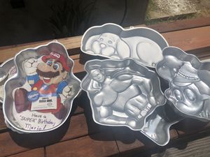 Baking pans molds for Sale in Lincoln Acres, CA