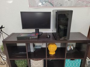 Full Gaming PC Setup With Monitor, Mouse, Keyboard, and Computer for Sale in Dixon, CA