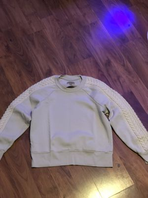 Burberry London Sweater with Quilted Sleeves for Sale in Highland Park, MI