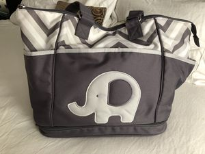 Elephant Diaper Bag for Sale in Smithfield, RI