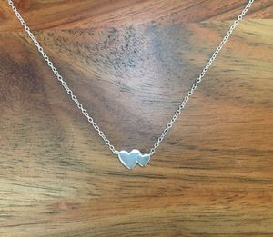 925 Sterling Silver Hearts Necklace for Sale in Hesperia, CA