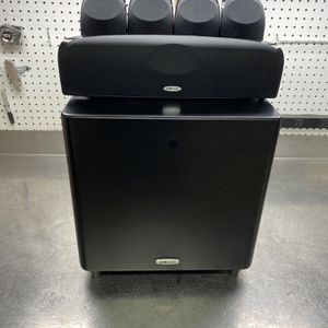 Polk 5.1 Home Theater Surround Sound Speakers for Sale in Quakertown, PA