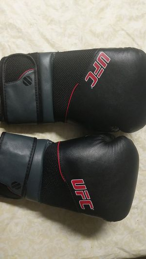 UFC Boxing Gloves includes with two pounds dumbells for Sale in Upland, CA