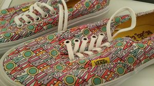 Size 6.5 vans all you need is love for Sale in Powdersville, SC