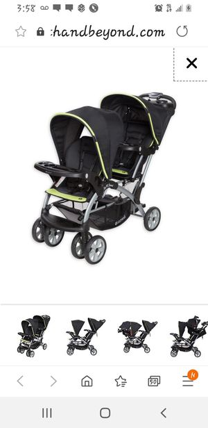 Graco double stroller new only used 1 time 100 or best offer for Sale in Brick, NJ