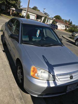 Honda Civic 2001 for Sale in Vallejo, CA