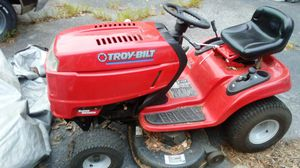 "riding lawn mower Troy-Bilt 20 horsepower Kohler excellent condition """" but will not start"""" purchase new lawn mower for Sale in Richmond, VA"