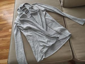 Hollister Zipper Sweater/Cardigan Grey - XS for Sale in Woodbridge Township, NJ