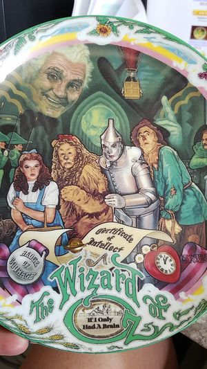 wizard of oz musical plate for Sale in Trimble, MO