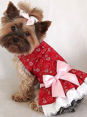 Heart Sparkling Dog Dresses for Sale in Baltimore, MD