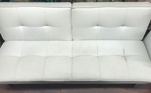 White Futon- give me your best offer for Sale in Chicago, IL