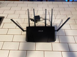 ASUS wireless AC3200 Tri-band Gigabit router for Sale in Placentia, CA