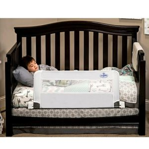 Regalo Swing Down Convertible Crib Toddler Bed Rail Guard Lightweight Kid Safety for Sale in Orlando, FL