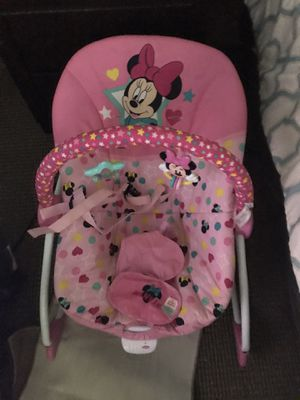 Minnie Mouse rocker/bouncer for Sale in Kinston, NC