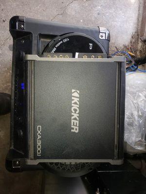 Kicker cxa300.1 for Sale in Cicero, IL