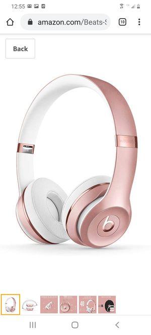 Beats solo 3 wireless headphones for Sale in Herriman, UT