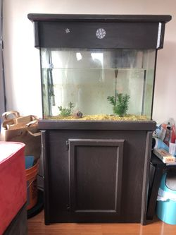 30 Gallon Fish Tank/aquarium, Full Set for Sale in Seattle,  WA