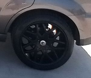 20 in Black Satin Rims for Sale in Abilene, TX