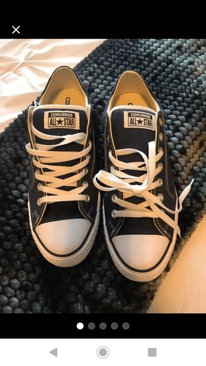 New Navy Converse Size 10 Mens for Sale in Calexico, CA
