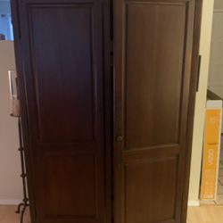 Solid Wood Armoire Wired From Television for Sale in San Diego,  CA