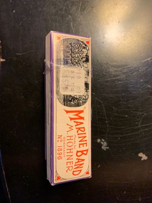 Vintage Marine Band by M. Hohner harmonica for Sale in San Diego, CA