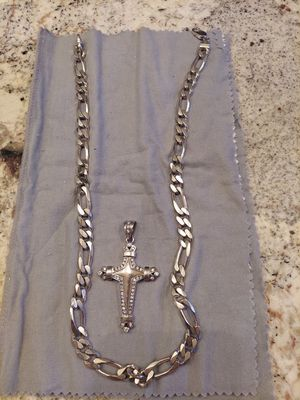 White gold and SILVER Chain for Sale in Las Vegas, NV