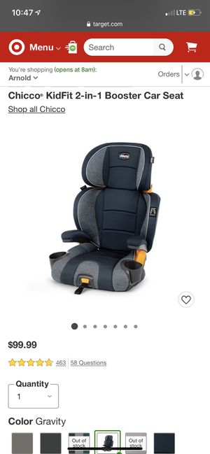 Brand new car seat still in box $80 obo for Sale in Modesto, CA