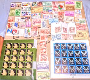 Huge Lot of Antique and Vintage U.S. Stamps for Sale in Albuquerque, NM