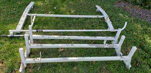 Adrain steel. Van. Ladder rack. And weatherguard. Ladder rack. for Sale in Aurora, IL