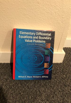 Elementary Differential Equations and Boundary Value Problems for Sale in Seattle, WA