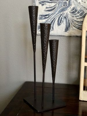 Iron Candle 3 stick holder for Sale in Fontana, CA
