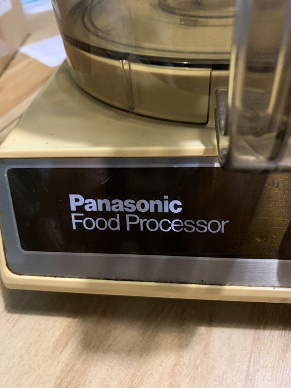 Panasonic food processor