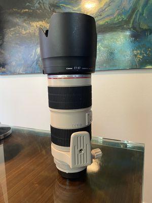 Canon EF 70-200 f/2.8 L IS II Telephoto Lens for Sale in Scottsdale, AZ