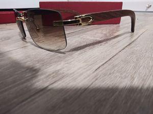 Rimless Wood Cartier Eye Wear Light tint for Sale in Atlanta, GA