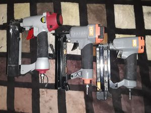 Brad Nailer, Triple Crown Stapler, and Pin Nailer for Sale in Bell Gardens, CA