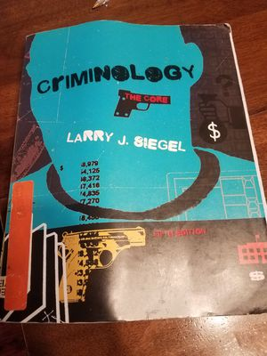 Criminology The Core for Sale in Fullerton, CA