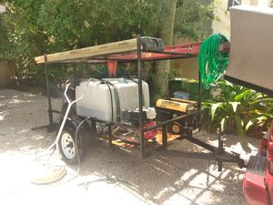 Pressure cleaner plus tools and trailer for Sale in Oakland Park, FL
