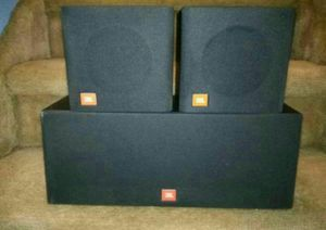 Excellent condition and perfect sounding JBL Flix 1 surround sound for Sale in Colorado Springs, CO
