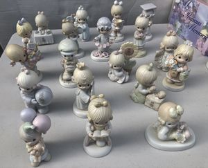 Precious moments porcelain figurines $6 each for Sale in Canby, OR