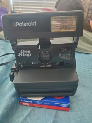 Polaroid camera and film for Sale in Austin, TX